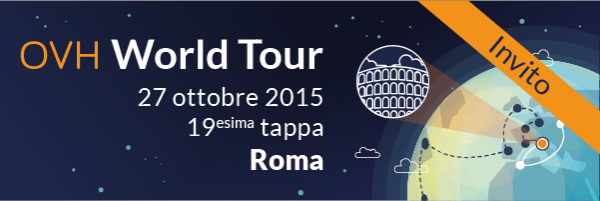 Save the Date: OVH World Tour @ 27 Ottobre, Roma